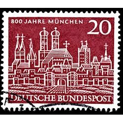1958 Germany BRD Sc 785 8 Cent. Munich  (o) Used, Nice  (Scott)