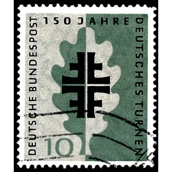 1958 Germany BRD Sc 788 Holiday gymnastic  (o) Used, Nice  (Scott)