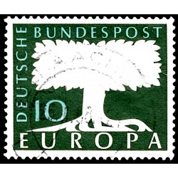 1958 Germany BRD Sc 772A Europe '58  (o) Used, Nice  (Scott)