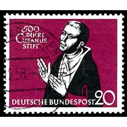1958 Germany BRD Sc 792 Cusanus hospital  (o) Used, Nice  (Scott)