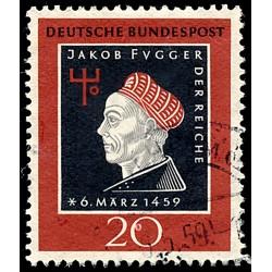 1959 Germany BRD Sc 798 Jakob Fugger  (o) Used, Nice  (Scott)