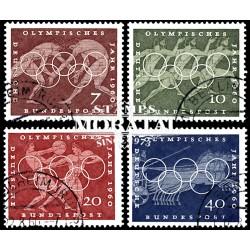 1960 Germany BRD Sc 813/816 60 Rome Olympiad  (o) Used, Nice  (Scott)