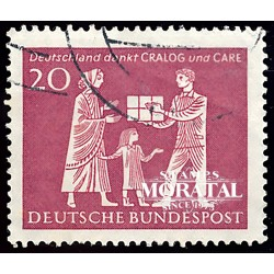 1963 Germany BRD Sc 855 Cralog and Care  (o) Used, Nice  (Scott)
