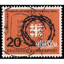 1963 Germany BRD Sc 866 Evangelical Church  (o) Used, Nice  (Scott)