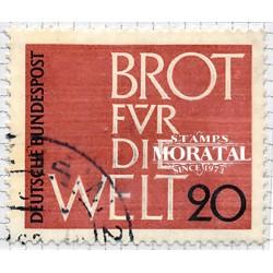 1962 Germany BRD Sc 854 Against hunger  (o) Used, Nice  (Scott)