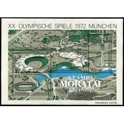 1972 Germany BRD Sc B489 72 Munich Olympics  **MNH Very Nice, Mint Never Hinged?  (Scott)