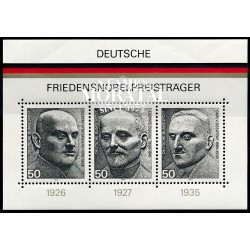 1975 Germany BRD Sc 1203 Nobel Peace laureates  **MNH Very Nice, Mint Never Hinged?  (Scott)