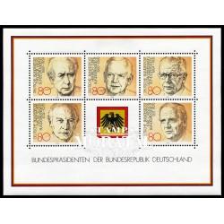 1982 Germany BRD Sc 1384 Presidents Germany  *MH Nice, Mint Hinged  (Scott)