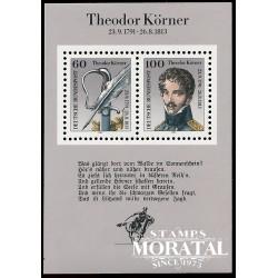1991 Germany BRD Sc 1685 Theodor Körner  **MNH Very Nice, Mint Never Hinged?  (Scott)