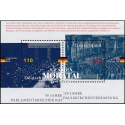 1998 Germany BRD Sc 2005 150 years Constitution Confederation  **MNH Very Nice, Mint Never Hinged?  (Scott)