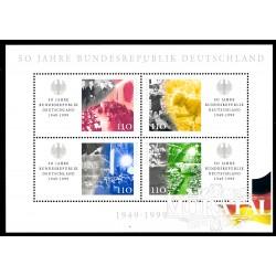 1999 Germany BRD Sc 2042 Anniversary Republic  **MNH Very Nice, Mint Never Hinged?  (Scott)