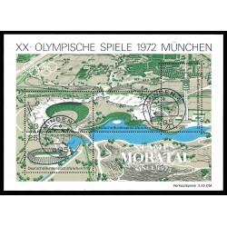 1972 Germany BRD Sc B489 72 Munich Olympics  (o) Used, Nice  (Scott)