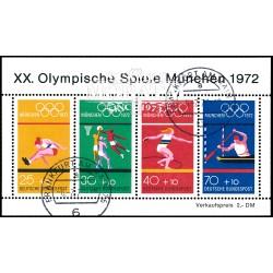 1972 Germany BRD Sc B490 72 Munich Olympics  (o) Used, Nice  (Scott)