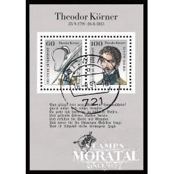 1991 Germany BRD Sc 1685 Theodor Körner  (o) Used, Nice  (Scott)