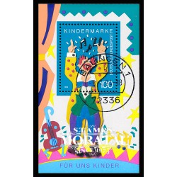 1993 Germany BRD Sc 1813 For the children. The circus. 93  (o) Used, Nice  (Scott)