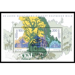 1997 Germany BRD Sc 1968 Protection forests  (o) Used, Nice  (Scott)