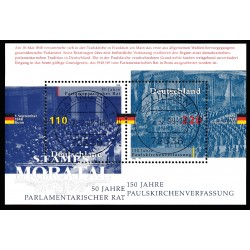1998 Germany BRD Sc 2005 150 years Constitution Confederation  (o) Used, Nice  (Scott)