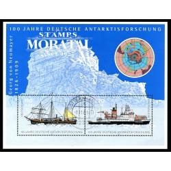 2001 Germany BRD Sc 2143 Antarctic exploration  (o) Used, Nice  (Scott)