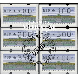 1993 Germany BRD Sc 0 0  (o) Used, Nice  (Scott)