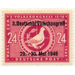 1949 Germany DDR Sc 0 Soviet zone  *MH Nice, Mint Hinged  (Scott)