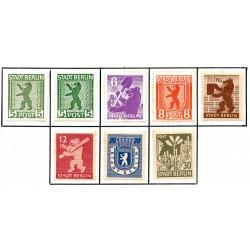 1945 Germany DDR Sc 0 Soviet Zone Berlin  *MH Nice, Mint Hinged  (Scott)