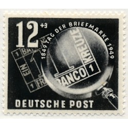 1949 Germany DDR Sc 0 day of the stamp  *MH Nice, Mint Hinged  (Scott)