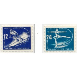 1950 Germany DDR Sc 0 Winter sports championships of the GDR, Schierke  *MH Nice, Mint Hinged  (Scott)