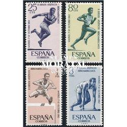 1962 Spanien 1342/1345  Spiele Iber. Sport * Falz Guter Zustand  (Michel)
