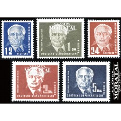 1950 Germany DDR Sc 0 Postage stamps: President Wilhelm Pieck  *MH Nice, Mint Hinged  (Scott)