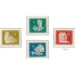 1950 Germany DDR Sc 0 Anniversary of the death of Johann Sebastian Bach  *MH Nice, Mint Hinged  (Scott)