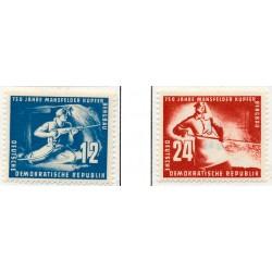 1950 Germany DDR Sc 0 750 years of copper slate mining in Mansfeld  *MH Nice, Mint Hinged  (Scott)