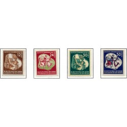 1951 Germany DDR Sc 0 World Festival, Youth and Students for Peace  **MNH Very Nice, Mint Never Hinged?  (Scott)