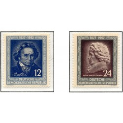 1952 Germany DDR Sc 0 125th anniversary of Ludwig van Beethoven's death  **MNH Very Nice, Mint Never Hinged?  (Scott)
