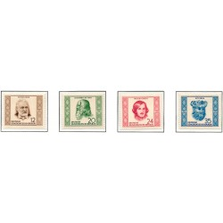 1952 Germany DDR Sc 0 Birthdays and deaths of famous people  **MNH Very Nice, Mint Never Hinged?  (Scott)
