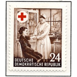 1953 Germany DDR Sc 0 One year of German red  **MNH Very Nice, Mint Never Hinged?  (Scott)