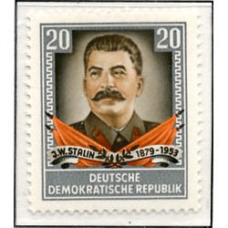 1954 Germany DDR Sc 0 Anniversary of the death of Yossif W. Stalin  *MH Nice, Mint Hinged  (Scott)