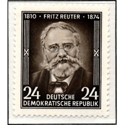 1954 Germany DDR Sc 0 Fritz Reuter's death anniversary  *MH Nice, Mint Hinged  (Scott)