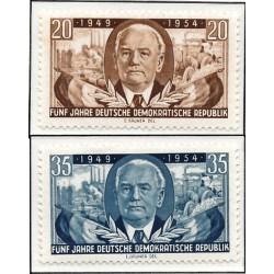 1954 Germany DDR Sc 0 5 years German Democratic Republic  *MH Nice, Mint Hinged  (Scott)