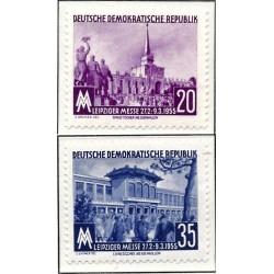 1955 Germany DDR Sc 0 Leipzig Spring Fair.  *MH Nice, Mint Hinged  (Scott)
