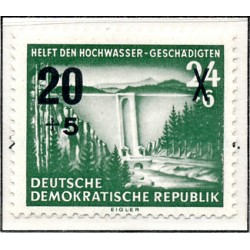 1955 Germany DDR Sc 0 Help for the flood victims  *MH Nice, Mint Hinged  (Scott)