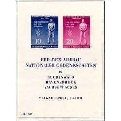 1955 Germany DDR Sc 0 International Liberation Day  *MH Nice, Mint Hinged  (Scott)