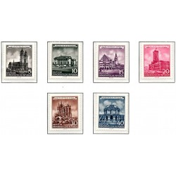 1955 Germany DDR Sc 0 Historic buildings  *MH Nice, Mint Hinged  (Scott)