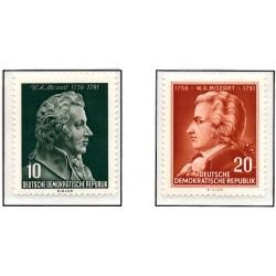 1956 Germany DDR Sc 0 Wolfgang Amadeus Mozart  *MH Nice, Mint Hinged  (Scott)