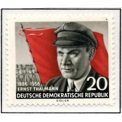 1956 Germany DDR Sc 0 Thalmann Ernst  *MH Nice, Mint Hinged  (Scott)