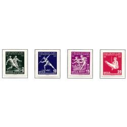 1956 Germany DDR Sc 0 German Gymnastics and Sports Festival Leipzig  *MH Nice, Mint Hinged  (Scott)