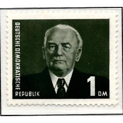 1950 Germany DDR Sc 0 Block issue: German stamp exhibition DEBRIA, Leipzig    (Scott)