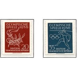 1956 Germany DDR Sc 0 Olympic Games XVI  *MH Nice, Mint Hinged  (Scott)