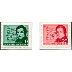 1956 Germany DDR Sc 0 Schumann Robert  *MH Nice, Mint Hinged  (Scott)