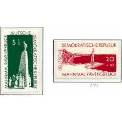 1957 Germany DDR Sc 0 Ravensbrück Memorial  *MH Nice, Mint Hinged  (Scott)