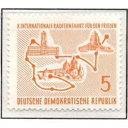 1957 Germany DDR Sc 0 Promotion of coal mining  *MH Nice, Mint Hinged  (Scott)